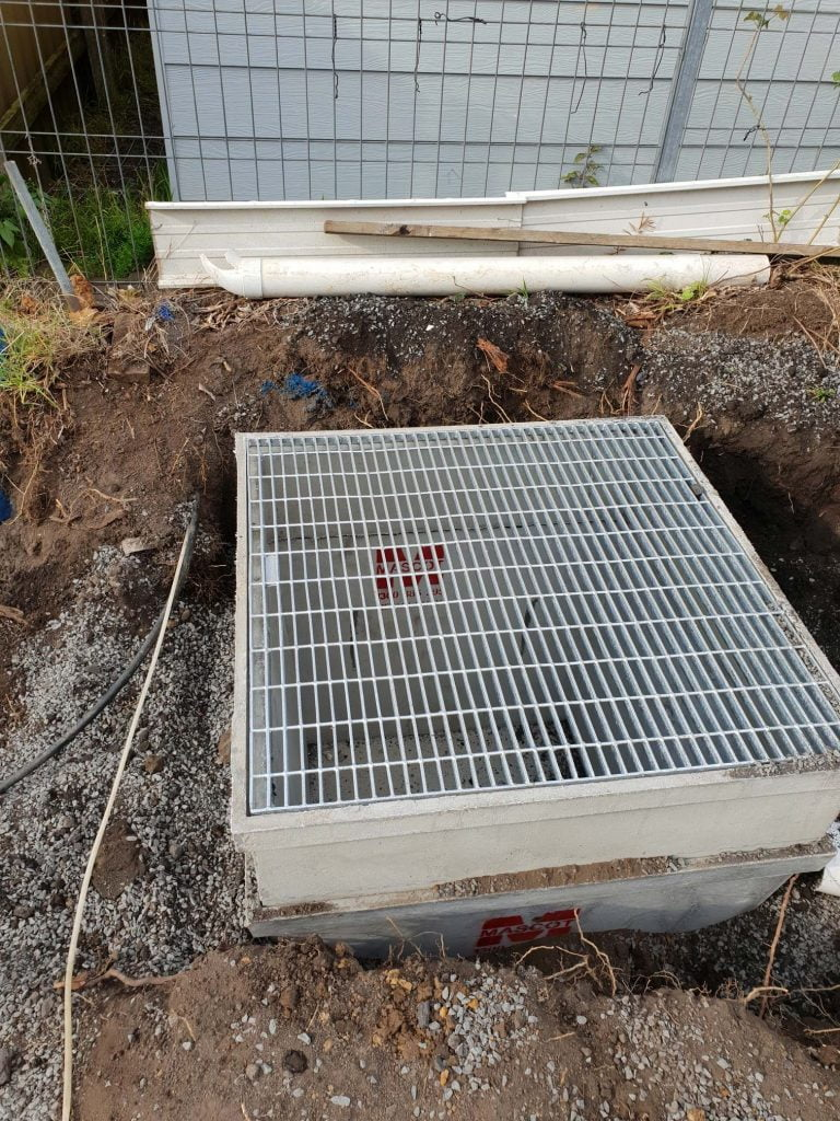 Wollongong residential plumber - Keiraville ODS installation, Grey St
