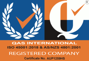 ISO45001 & AS/NZS4801 Certified