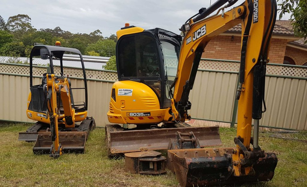 Ready for excavation & civil works in the Wollongong & Illawarra areas